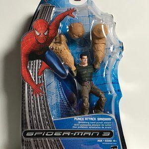 Spider-Man 3 Punch Attack Sandman.